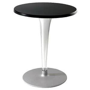 Kartell TopTop Cafe Table Outdoor by Kartell - Color: Black (4212/09)