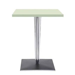 Kartell TopTop Cafe Table Outdoor by Kartell - Color: Green (4211/12)