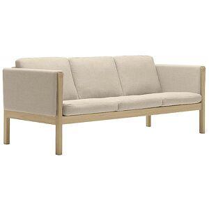 Carl Hansen CH163 Sofa by Carl Hansen - Color: Beige - Finish: Wood tones - (CH163-OAK SOAP-SIF 90)