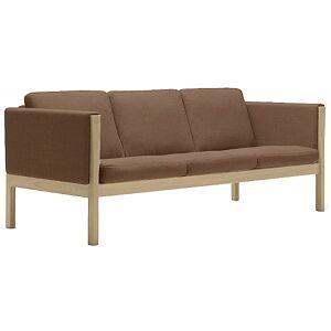 Carl Hansen CH163 Sofa by Carl Hansen - Color: Brown - Finish: Wood tones - (CH163-OAK SOAP-SIF 95)
