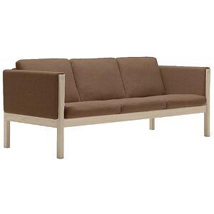 Carl Hansen CH163 Sofa by Carl Hansen - Color: Brown - Finish: Wood tones - (CH163-OAK WHT OIL-SIF 95)