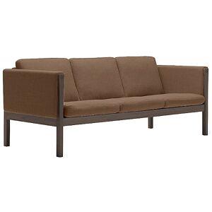 Carl Hansen CH163 Sofa by Carl Hansen - Color: Brown - Finish: Wood tones - (CH163-WAL LAQ-SIF 95)