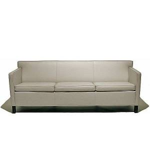 Knoll Krefeld Sofa by Knoll - Color: Red (753-AOC-K1206/9)