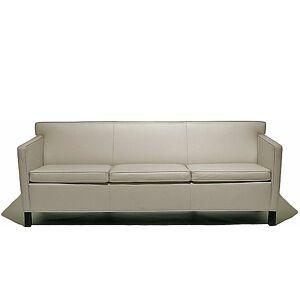 Knoll Krefeld Sofa by Knoll - Color: Black (753-AOC-K1206/16)