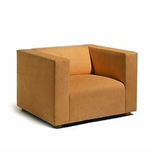 Knoll SM1 Lounge Chair by Knoll - Color: Orange (SM1-1-AOC-K1206/7)
