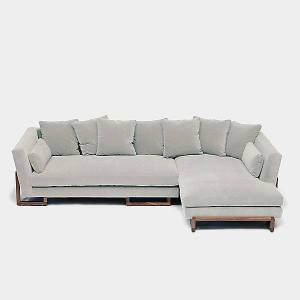 ARTLESS LRG Sectional Sofa by ARTLESS - Color: Wood Tones - Finish: Wood tones - (A-LRG-SEC-R-2-PA-W-CHT)