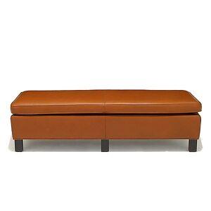 Knoll Krefeld Large Bench by Knoll - Color: Orange (756-AOC-K1206/7)