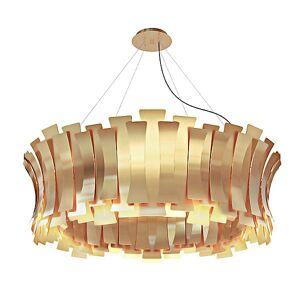 DelightFULL Etta Round Chandelier by DelightFULL - Color: Gold - Finish: Polished - (ETTARND_GLDPL)