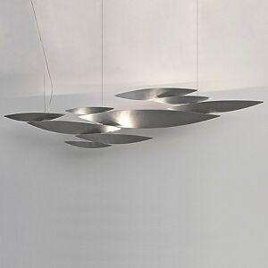 Terzani I Lucci Argentati Suspension Light by Terzani - Color: Silver - Finish: Nickel - (0N81SH4C8A)
