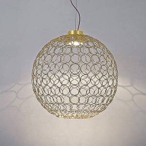 Terzani G.R.A. Round LED Pendant Light by Terzani - Color: Gold - Finish: Painted - (0N43SH5C8ALW)