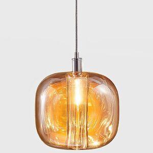 Cubie Single Pendant Light by Viso - Color: Amber (MM.07.931.11.L)