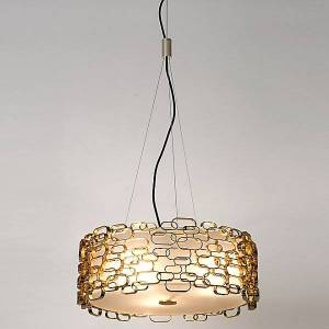 Terzani Glamour Pendant Light by Terzani - Color: Metallics - Finish: Gold - (0N16SH8C8A)
