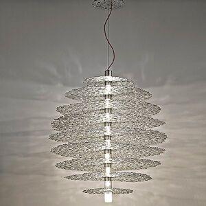 Terzani Tresor Suspension Light by Terzani - Color: Metallics - Finish: Silver - (0N60SH6C8A)