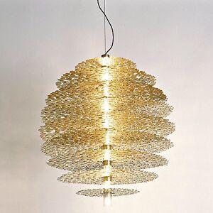 Terzani Tresor Suspension Light by Terzani - Color: Metallics - Finish: Gold - (0N60SH5C8A)