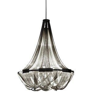 Terzani Soscik Suspension Light by Terzani - Color: Silver - Finish: Nickel - (0G56SH4C8A)