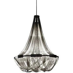 Terzani Soscik Suspension Light by Terzani - Color: Silver - Finish: Nickel - (0G57SH4C8A)