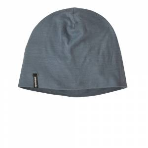 Patagonia Overlook Merino Wool Liner Beanie Hat - AW21 - Grey - mens / womens - Size: One