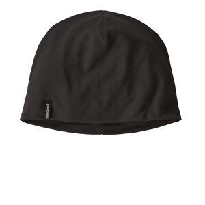 Patagonia Overlook Merino Wool Liner Beanie Hat - AW21 - Black - mens / womens - Size: One