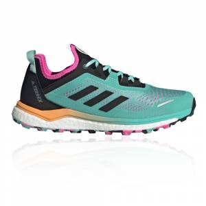 adidas Terrex Agravic Flow Women's Trail Running Shoes - AW21 - Blue - womens - Size: 41.3