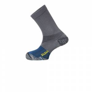 Salewa Trek N Socks - AW21 - Grey - mens - Size: 9.5-11