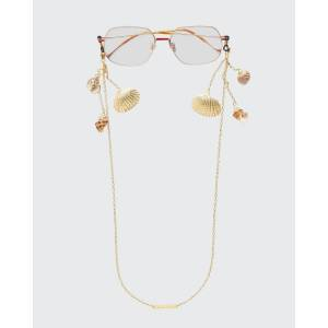 """FRAME CHAIN Shellie Conch Chain with Shells, 26""""L  - Size: female"""