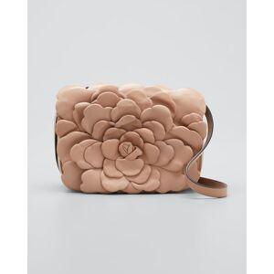 Atelier Rose 03 Edition Leather Rose Small Shoulder Bag  - BLUSH - BLUSH