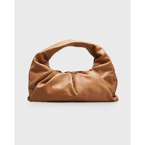 Bottega Veneta Small Butter Napa Shoulder Hobo Bag  - LIGHT BROWN - LIGHT BROWN
