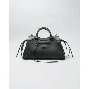 Balenciaga Neo Classic City Grained Calf Satchel Bag  - BLACK - BLACK