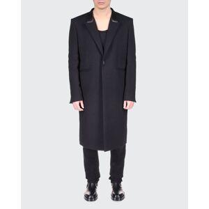 Givenchy Men's 4G Jacquard Long Coat  - BLACK - BLACK - Size: 52 EU (36R US)