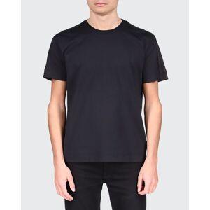 Givenchy Men's Basic Tonal Logo-Tape T-Shirt  - BLACK - BLACK - Size: Small