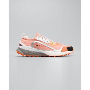 adidas by Stella McCartney ASMC Outdoorboost Colorblock Trainer Sneakers  - ORANGE - ORANGE - Size: 9B / 39EU