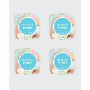 Sugarfina Ice Cream Cones Small Cube 4-Piece Kit