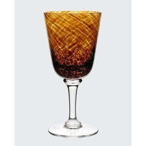 William Yeoward Vanessa Glass Water Goblet, Tortoise  - Size: unisex