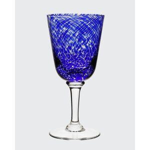 William Yeoward Vanessa Glass Water Goblet, Blue  - Size: unisex
