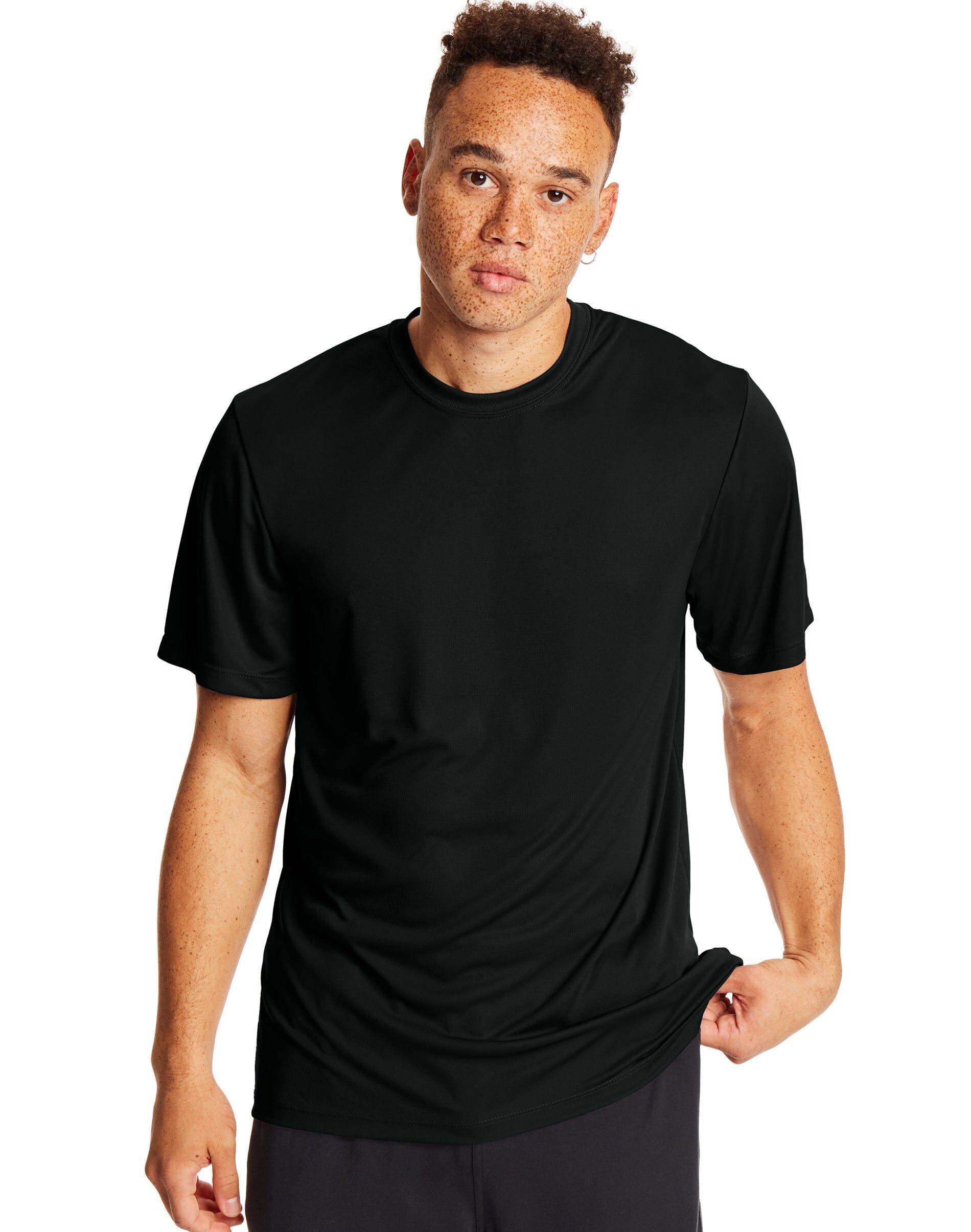 Hanes Sport Cool DRI Men's Performance Tee 2-Pack Black M