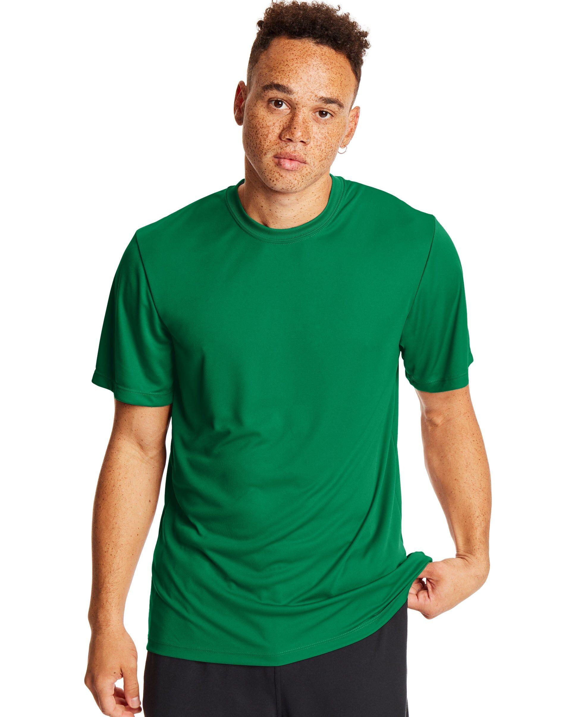 Hanes Sport Cool DRI Men's Performance Tee 2-Pack Kelly Green XL