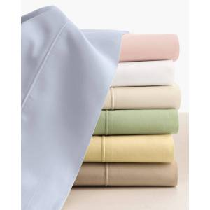 SFERRA Two King Italian 500 Thread Count Percale Pillowcases