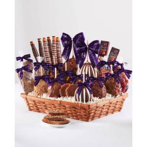 Colossal Caramel Apple Gift Basket