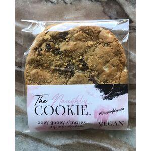 The Naughty Cookie Vegan Ooey Gooey S'mores Cookies, 8-Pack
