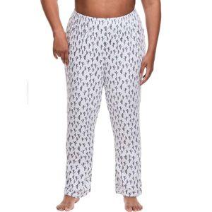 Just My Size Plus Sleep Pant Cactus 1X Women's