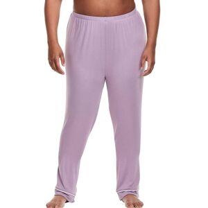 Just My Size Plus Sleep Pant Iris 1X Women's