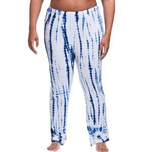 Just My Size Plus Sleep Pant Surfs Up Tie Dye 1X Women's