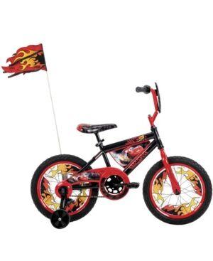 Huffy 16-Inch Disney Pixar Cars Lightning Mcqueen Bike for Kids - Open miscellaneous