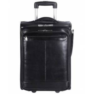 Mancini Signature Collection Wheeled Laptop and Tablet Briefcase - Men - Black - Size: No Size