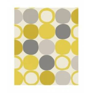 "Advantage 20.5"" x 369"" Beard Geometric Wallpaper - Yellow - Size: NO SIZE"