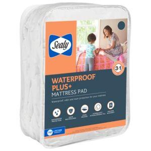 Sealy Waterproof Plus+ Mattress Pad, King - White - Size: King