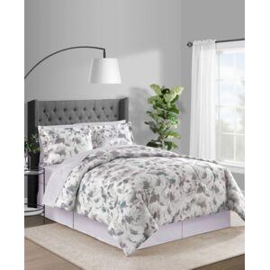 Closeout! Fairfield Square Collection Sophia 8-Pc. Reversible Queen Comforter Set Bedding - Mauve - Size: Queen
