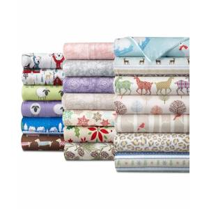 Shavel Micro Flannel Printed Twin 3-pc Sheet Set