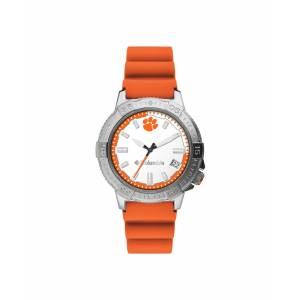 Columbia Men's Peak Patrol Clemson Silicone Strap Watch 45mm