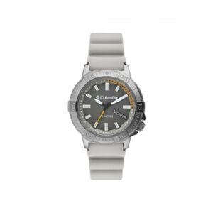 Columbia Men's Peak Patrol Gray Silicone Strap Watch 42mm - Men - Gray - Size: No Size